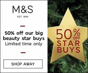 Online shopping at M&S, UK